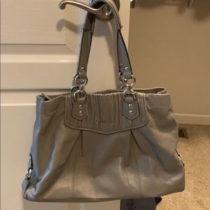Light Grey Coach Bag